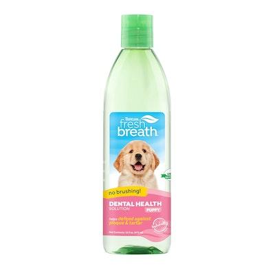 Tropiclean Fresh Breath Dental Health Solution Puppy 473ml