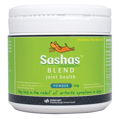 Sasha's Blend Sashas Blend Dogs Joint Health Treatment Powder 250g