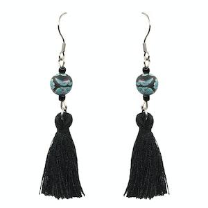 Global Sisters Shop Catalina Earrings - Black