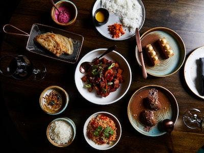 INDU Vegetarian Potato Curry Banquet