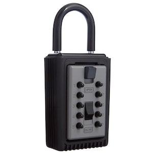 Kidde SU1192 Push Button Portable Key Safe 3 Key Capacity in Titanium