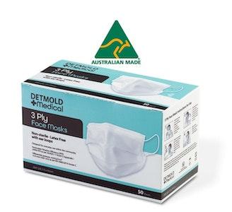 Australian Made 3-Ply Retail Mask - 50 pack (1200 masks per carton)