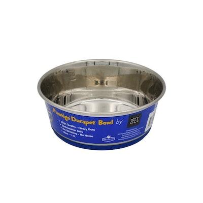 Zeez Durapet Premium Stainless Steel Pet Bowl - 4 Sizes