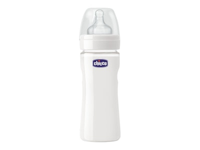 Chicco Wellbeing Glass Bottle
