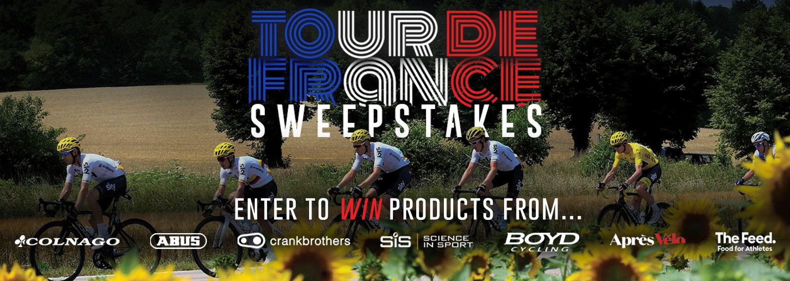 Enter to win prizes daily in our TDF Sweeps!