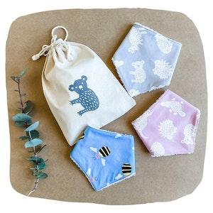 Baby Girl Bib Gift Bundle