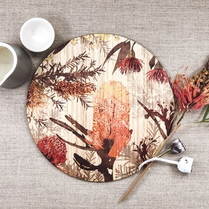 Coloured Wildflower Table Mats