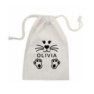 Personalised Name Easter Bag - Girls