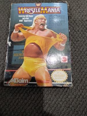 NES WWF WrestleMania *missing manual*