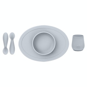 EZPZ Tiny First Food Set Pewter
