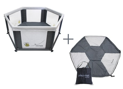 Vee Bee 6 Sided Play Yard Set (Mat included)