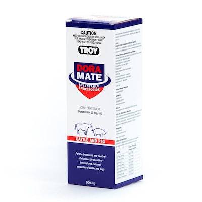 Troy Doramate Endectocide Cattle & Pig Treatment 500ml