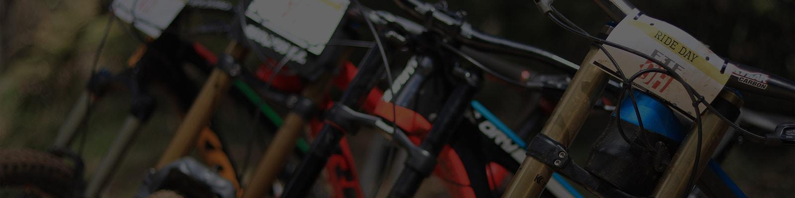 Banner - 2018 Kona Operator AL DL shock and cranks - Life of Bikes Pakenham