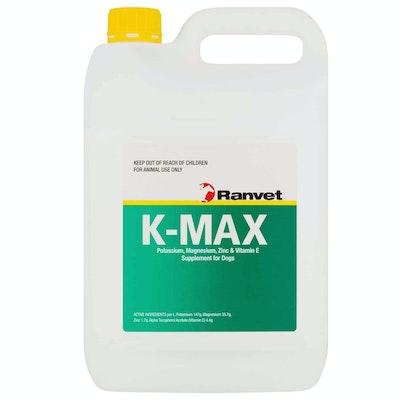 Ranvet K-Max Dogs Zinc & Vitamin E Supplement - 3 Sizes