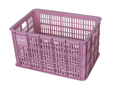 Basil Bicycle Crate Large 50L Fade Blossom