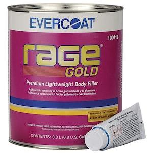Rage Gold Evercoat Body Filler with Hardener (8RG)