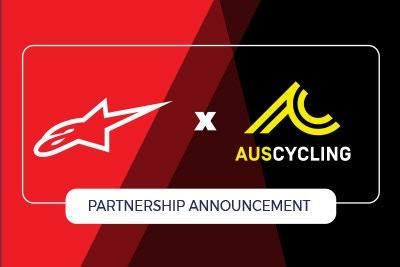 Alpinestars distributed by BikeSportz partners with AusCycling