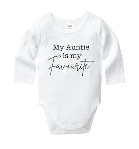 My Auntie is my Favourite Onesie