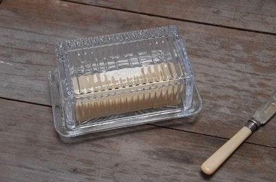Butter Dish - Glass