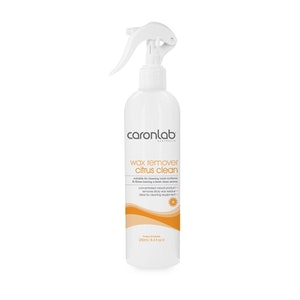 Caronlab Wax Remover Citrus Clean Trigger Spray 250ml Waxing Cleaner Removal