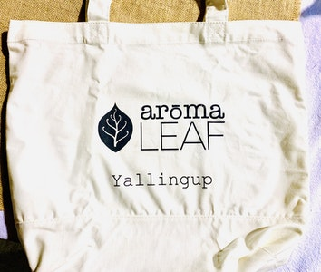arōmaLEAF Logo Tote Bag