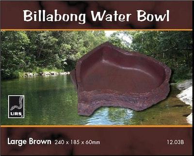 URS Billabong Water Bowl Large Brown