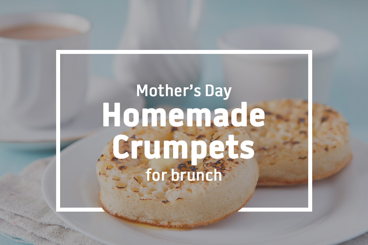Homemade Crumpets for brunch