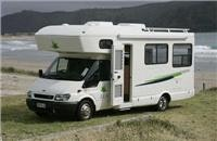 A typical popular bigger motorhome