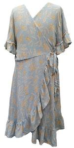 Wrap Dress - Blue Haze