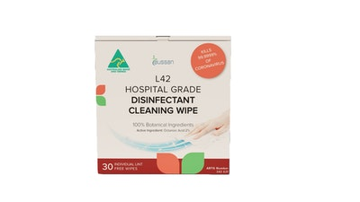 L42 Hospital Grade Disinfectant Cleaning Wipes | 30 Per Box
