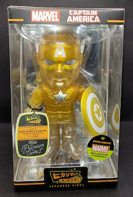 Gold Captain America Hikari - Marvel Collector Corps Year One Exclusive
