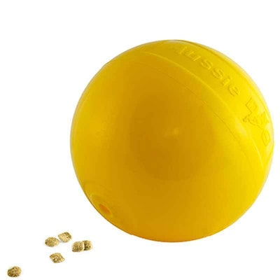 Aussie Dog Toy Food Dispenser Tucker Ball Large