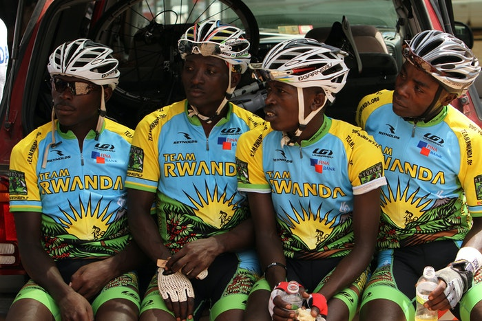 Team Rwanda photo courtesy John Russell