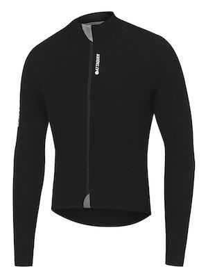 Attaquer Race Jacket Black White Logo