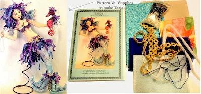 Bambole Designs TARJA, Mermaid Printed Pattern