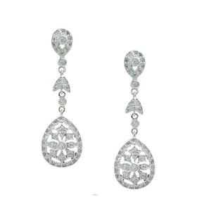 Willa wedding earrings