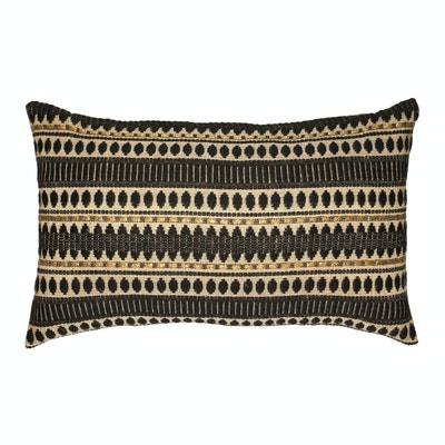Global Sisters Shop Indie Cushion Cover - Oblong - Black & Gold