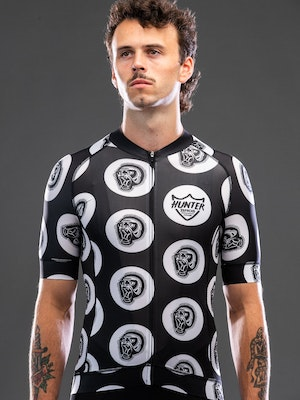Hunter Bros Cycling Back To The Primitive Short Sleeve Jersey