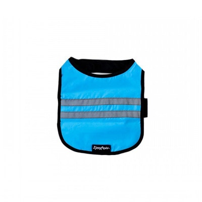 Zippy Paws Cooling Hi-Vis Reflective Dog Vest Blue - 3 Sizes