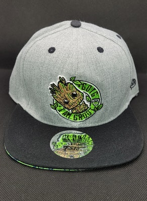 GOTG I Am Groot Pop Snapback Hat - Marvel Collector Corps Exclusive
