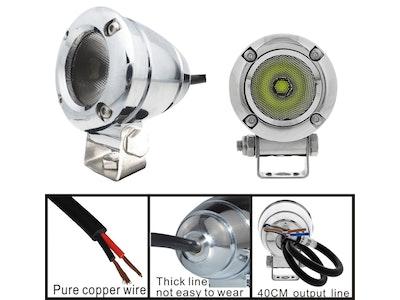 10 watt 1080 lm Silver XML-T6 CREE LED Aluminium Flood Light