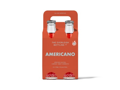 Americano Spritzed Cocktail - 24 pack