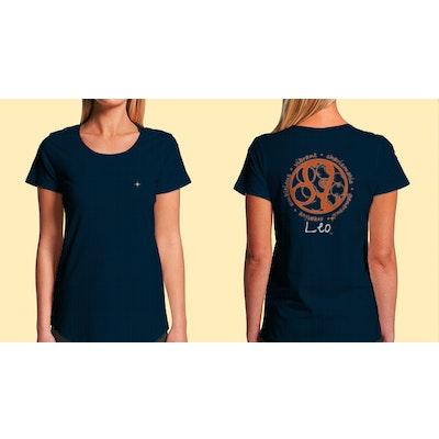 Interstellar Beverages Horoscope [FEMALE] T-Shirt Leo