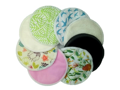 Hippybottomus Bamboo Breast Pads (Set of 2)