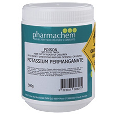 Pharmachem Potassium Permanganate Antiseptic Solution 500g