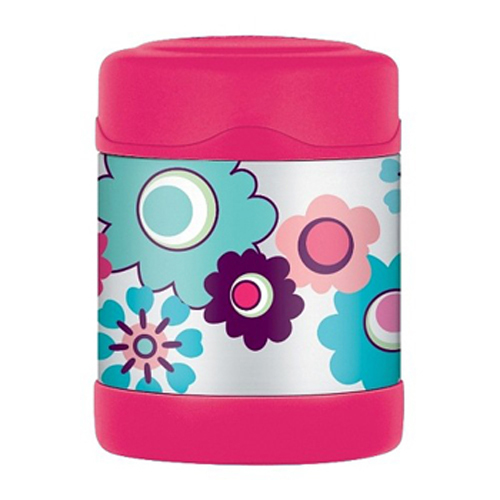 Food Jar Containers Fruits Keeps Thermos Stainless Steel Kids Flower Funtainers Girls would love to pack this adorable container that has fluttering butterflies in magical colours. Its interior is made from unbreakable stainless steel. Fitted with Thermax double wall insulation, it is built for maximum temperature retention, to keep hot things hot and cold things cold.  No need to worry about spills and messes, as it comes with an extra wide mouth and is easy to clean.  Buy one of these unique Thermos Stainless Steel Kids Flower Funtainers and bring a whole new twist to regular containers. It spells fun all the way and it is available in both Thermos Food Jar in Brisbane and drink bottle versions.
