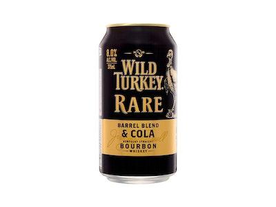 Wild Turkey Rare & Cola 8% Can 375mL