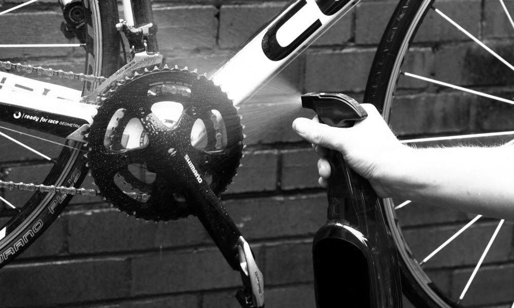 Een propere fiets is een blije fiets