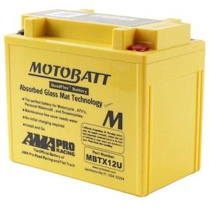 MBTX12U MotoBatt Quadflex 12V Battery