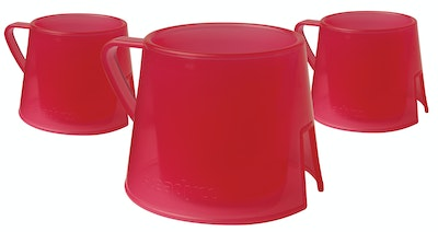 Steadyco Steadycup 3pk Red